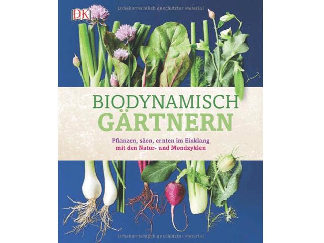 """Buch """"Biodynamisch gärtnern"""""""