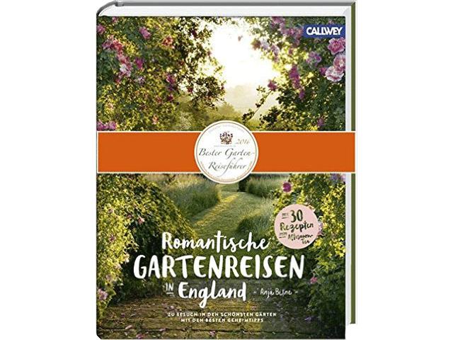 """Buch """"Romantische Gartenreisen-in England"""""""
