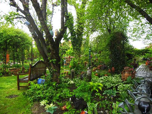 Natur Im Garten Im Garten Eines Sammlers Biogärtner