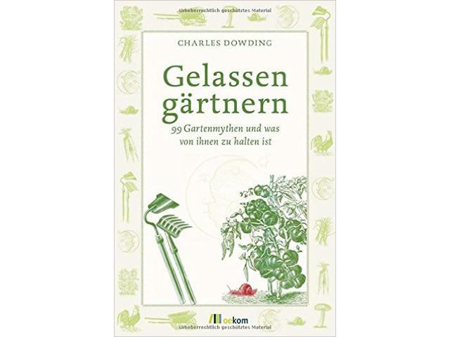 """Buch """"Gelassen gärtnern"""""""