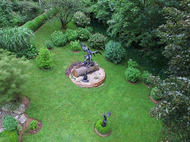 Natur Im Garten Gartenlust Trifft Schmiedekunst Biogärtner
