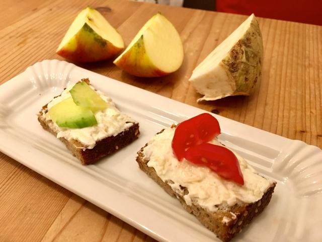 Apfel-Sellerie-Aufstrich