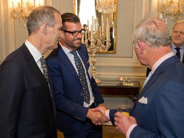 Plo und Prinz Charles