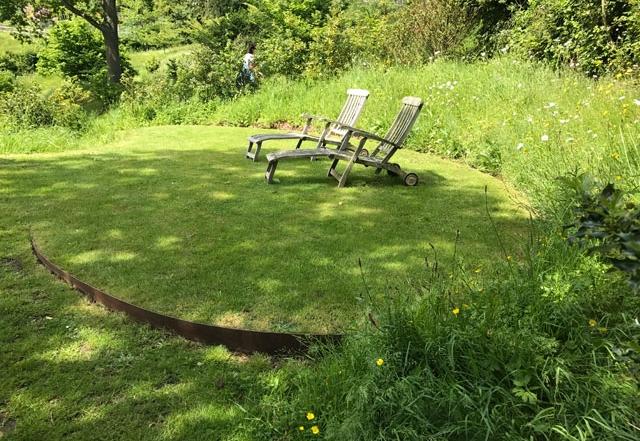 Privatgarten in England