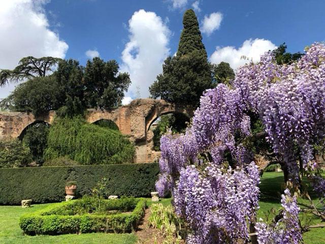 Gartenreise Rom