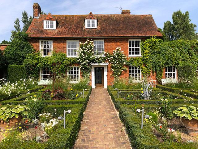 Barnards Farm - das Wohnhaus im privaten Landschaftspark