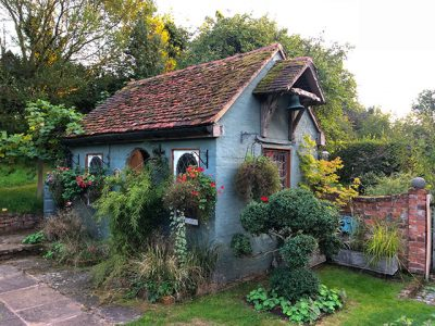 Snares Hill Cottage - das Badehaus