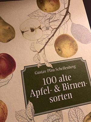 """Cover """"100 alte Apfel- und Birnensorten"""""""