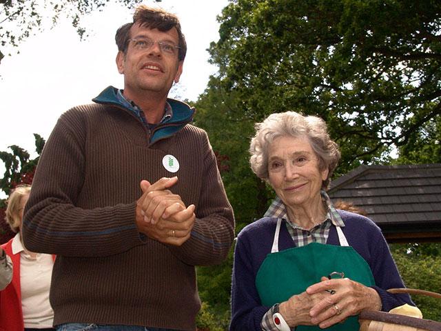 Biogärtner Karl Ploberger und Beth Chatto