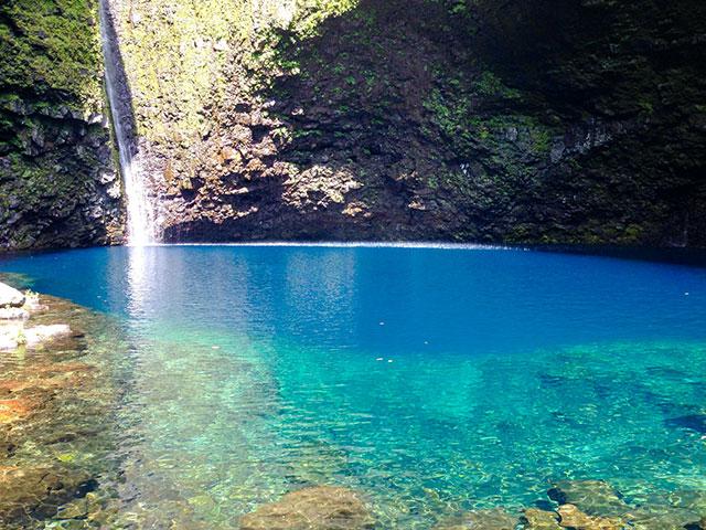 Paradiesischer Platz auf La Reunion