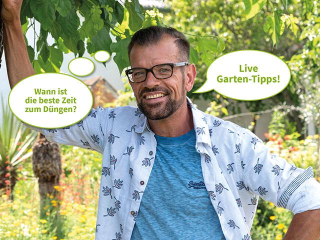 Live Garten-Tipps