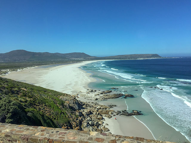 Endlose Strände in Südafrika