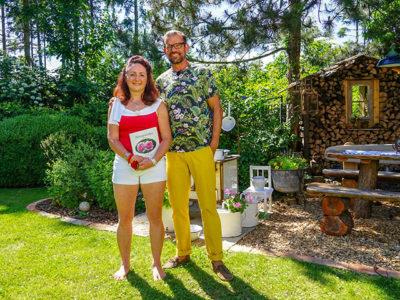 """""""Natur im Garten"""" am 30. Juni bei Margit Stich (Bild: ORF/Talk TV/Natur im Garten/Leopold Mayrhofer)"""