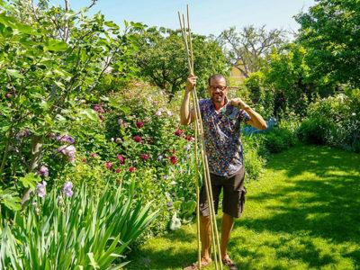"""""""Natur im Garten"""" im Blütenreich von Elisabeth Veen (Bild: ORF/Talk TV/Natur im Garten/Leopold Mayrhofer)"""