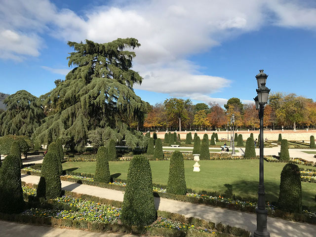 Parks in Madrid