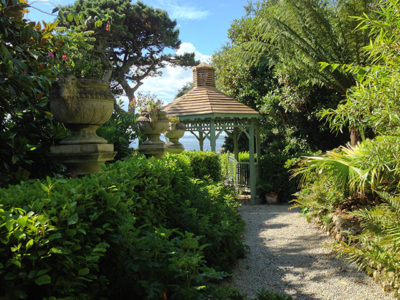 Cornwall Lamorran House Gardens