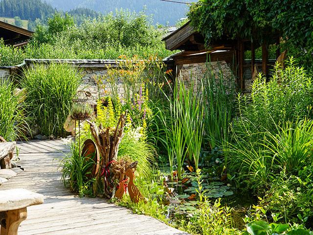 Natur im Garten in Leogang (Bild: ORF/L. Mayrhofer)