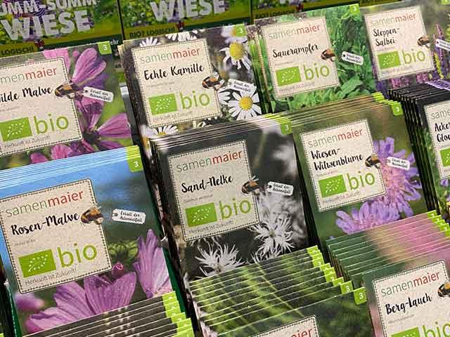 Bioverpackung für wilde Kräuter