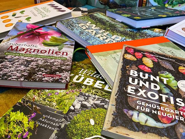 Bücher für den Frühling