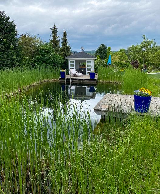 Badeoase im eigenen Garten