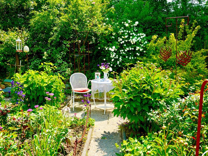 Garten von Pokorny-Jöbstl (Foto: Fuchs)