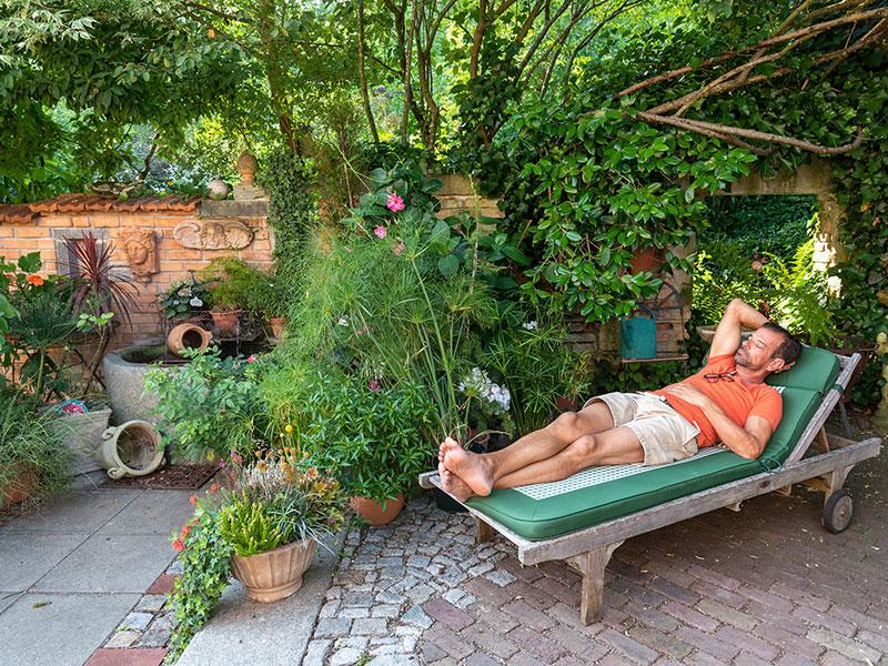 Garten genießen (Bild: Cadmos/C. Böhler)