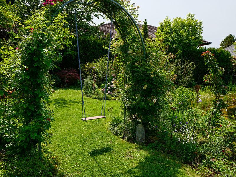 Natur im Garten in Tulbing (Bild: ORF/Heribert Fuchs)