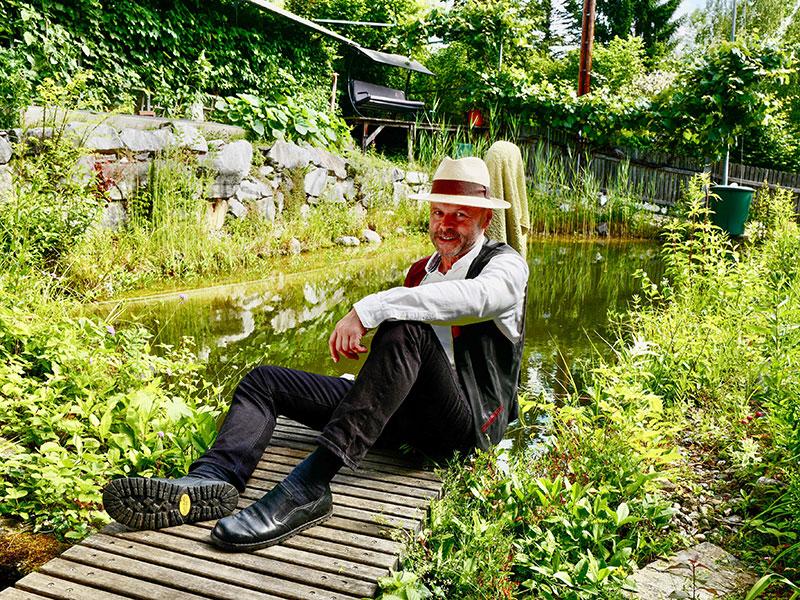 """Natur im Garten"" am Stadtrand von Graz (Bild: ORF/Heribert Fuchs)"