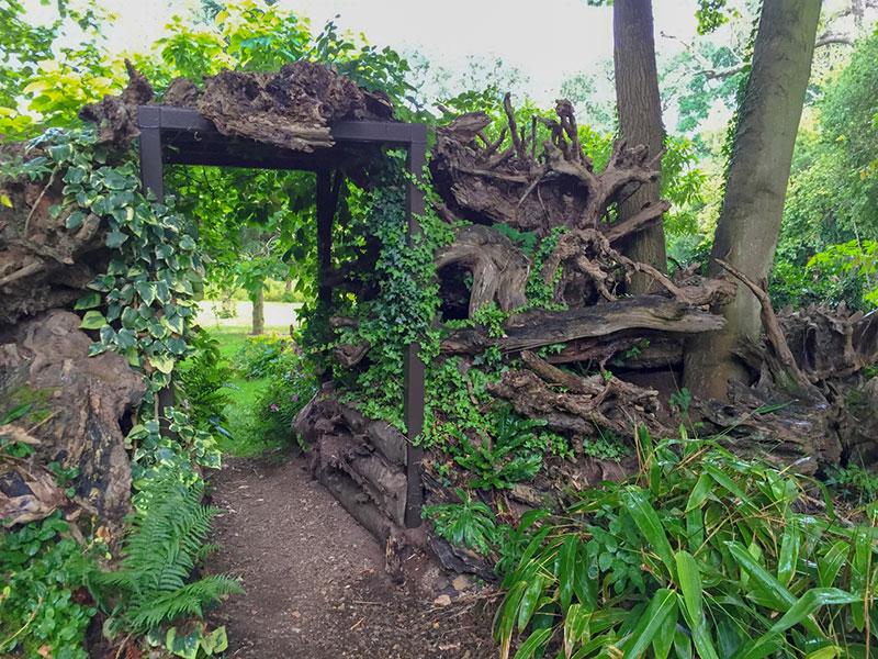 Wurzelstockgarten
