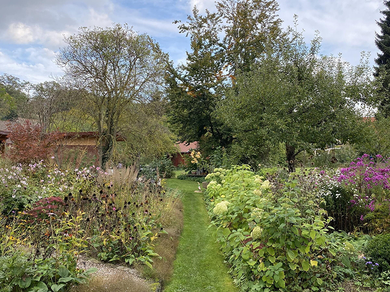 Gartenreise Deutschland - Garten Rastenberg-Künzler